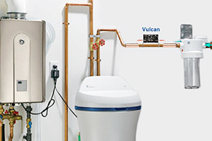 Vulcan with water softener